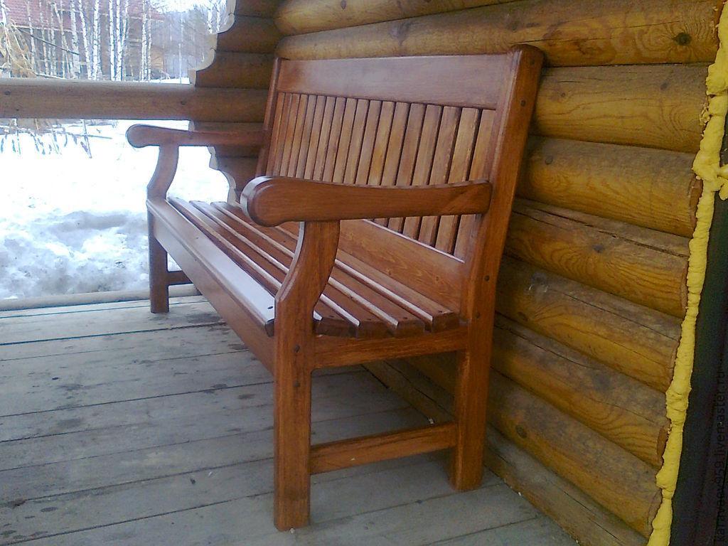 Скамейки из дерева своими руками цены 5
