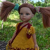 Куклы и игрушки handmade. Livemaster - original item Dress, vest, bag for Paola Reina doll