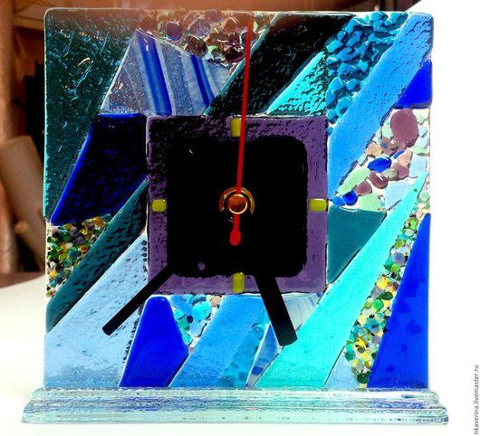 """Часы для дома ручной работы. Ярмарка Мастеров - ручная работа. Купить часы настольные """"Мне нравится..."""". Handmade. Часы"""