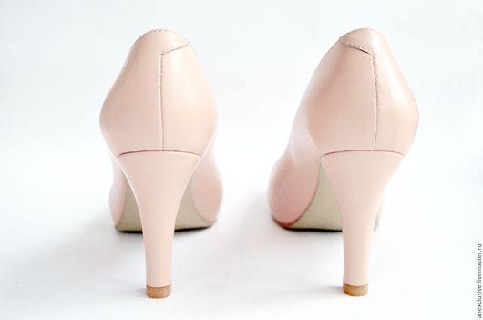 """Обувь ручной работы. Ярмарка Мастеров - ручная работа. Купить Туфли """"Розовый кварц"""". Handmade. Бледно-розовый, туфли на платформе"""