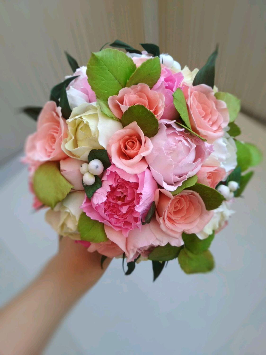 Букет невесты заказ цветы мира, прекрасна как этот