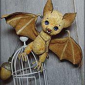 Куклы и игрушки ручной работы. Ярмарка Мастеров - ручная работа Летучая мышь Эш. Handmade.