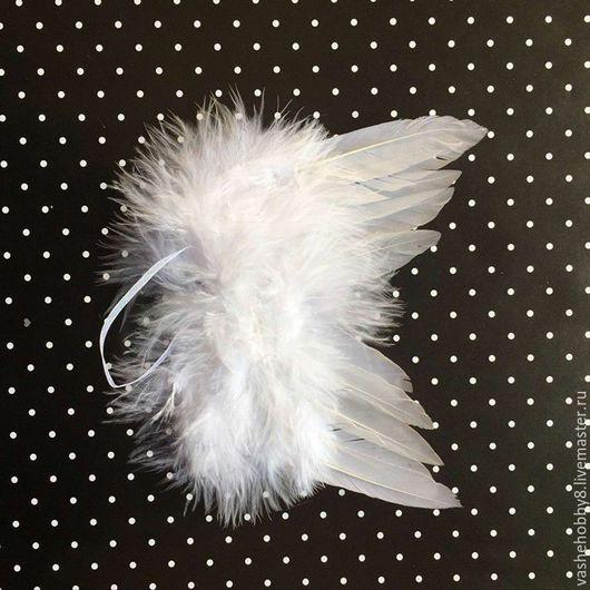 Куклы и игрушки ручной работы. Ярмарка Мастеров - ручная работа. Купить Крылья Ангела из перьев. Handmade. Белый, крылья