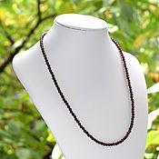 Работы для детей, handmade. Livemaster - original item Beads made from natural pomegranate. Handmade.