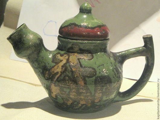 """Чайники, кофейники ручной работы. Ярмарка Мастеров - ручная работа. Купить Чайник""""ТайЧай- Весна"""". Handmade. Зеленый, керамическая посуда, чайник"""