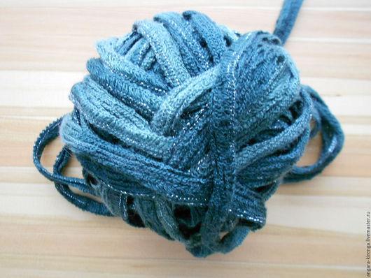"""Вязание ручной работы. Ярмарка Мастеров - ручная работа. Купить Пряжа  """"Софита"""" ленточная. Handmade. Комбинированный, пестрая пряжа"""