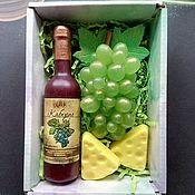 Косметика ручной работы handmade. Livemaster - original item soap: Gift set with wine. Handmade.