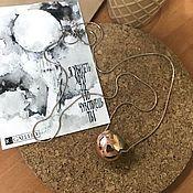 """Аксессуары handmade. Livemaster - original item The suspension """"Wise owl"""". Handmade."""