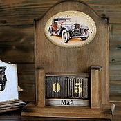 """Канцелярские товары ручной работы. Ярмарка Мастеров - ручная работа Вечный календарь """" Ретро"""". Handmade."""