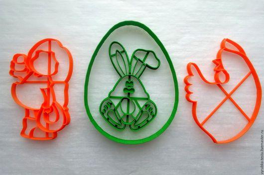 Кухня ручной работы. Ярмарка Мастеров - ручная работа. Купить Пасха 2- вырубки для печенья, пряников, мастики. Handmade. Комбинированный