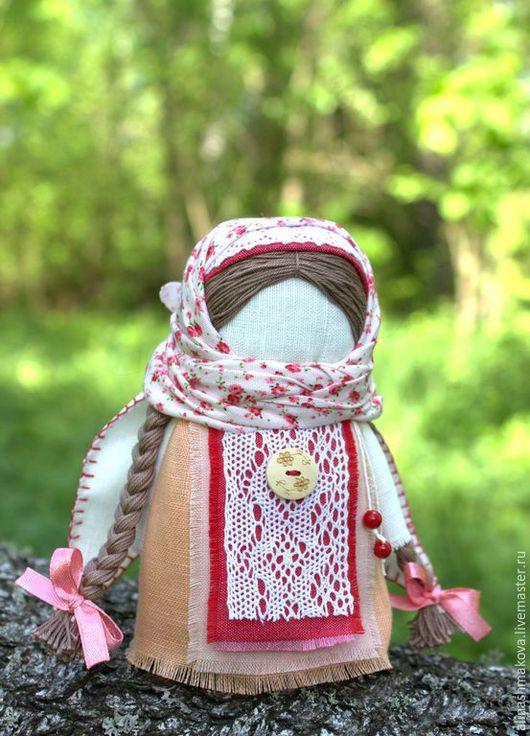 """Народные куклы ручной работы. Ярмарка Мастеров - ручная работа. Купить Куколка-оберег """"Ангел яблоневого сада"""". Handmade."""