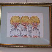 Картины и панно ручной работы. Ярмарка Мастеров - ручная работа Почти идеальный. Handmade.