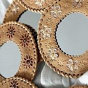 Сувениры и подарки ручной работы. Ярмарка Мастеров - ручная работа зеркало карманное. Handmade.