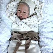 """Комплекты одежды ручной работы. Ярмарка Мастеров - ручная работа Комплект для малыша """"Счастливая звезда"""". Handmade."""