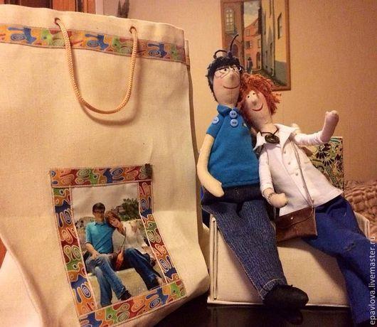 Портретные куклы ручной работы. Ярмарка Мастеров - ручная работа. Купить В парке Гуэль..... Handmade. Портретная кукла