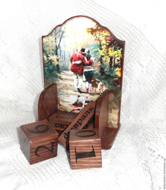 Календари ручной работы. Ярмарка Мастеров - ручная работа. Купить Вечный календарь Двое плюс один. Handmade. Вечный календарь