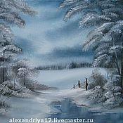 Картины и панно ручной работы. Ярмарка Мастеров - ручная работа Картина «Серебро». Handmade.