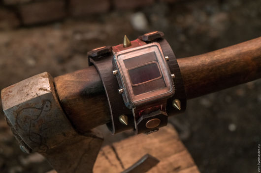Часы ручной работы. Ярмарка Мастеров - ручная работа. Купить Наручные часы ЗОМБИ-2. Handmade. Подарок мужчине, fallout