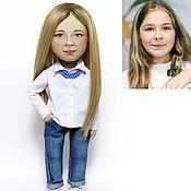 Куклы и игрушки ручной работы. Ярмарка Мастеров - ручная работа Кукла с портретным сходством. Девушка.. Handmade.