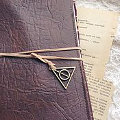 Канцелярские товары handmade. Livemaster - original item Softbook The Deathly Hallows. Handmade.