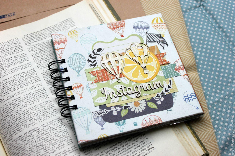 Notebook instagram, scrapbooking workshop Living History