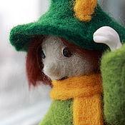 """Куклы и игрушки ручной работы. Ярмарка Мастеров - ручная работа Войлочная игрушка """"Снусмумрик"""". Handmade."""