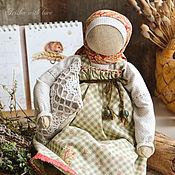 "Народная кукла ручной работы. Ярмарка Мастеров - ручная работа Кукла для сна ""Луговые травы и лаванда"".. Handmade."