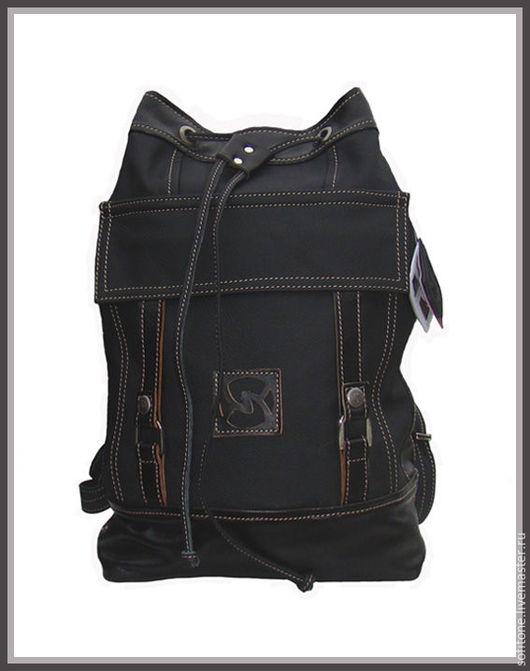 Рюкзаки ручной работы. Ярмарка Мастеров - ручная работа. Купить Рюкзак- Торба цвет Черный. Handmade. Торба-рюкзак, черный