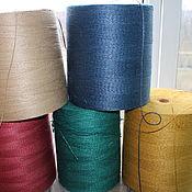 Материалы для творчества handmade. Livemaster - original item Jute. jute yarn. Handmade.