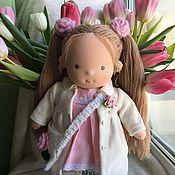 Куклы и игрушки handmade. Livemaster - original item Linda - Waldorf doll. Handmade.