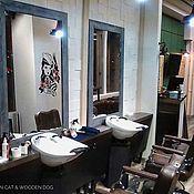 Для дома и интерьера ручной работы. Ярмарка Мастеров - ручная работа Зеркало лофт В НАЛИЧИИ в деревянной раме. Handmade.