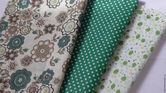 Шитье ручной работы. Ярмарка Мастеров - ручная работа. Купить Ткань для тильды, отрезы 20х25 см, 3 шт.. Handmade.