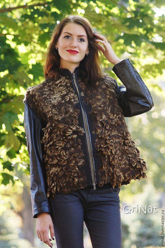 """Верхняя одежда ручной работы. Ярмарка Мастеров - ручная работа. Купить Куртка""""Пряности"""". Handmade. Комбинированный, куртка женская, оригинальная куртка"""