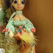 """Портретная кукла ручной работы. Ярмарка Мастеров - ручная работа Смешная кукла """"Фрэйлинка"""". Handmade."""