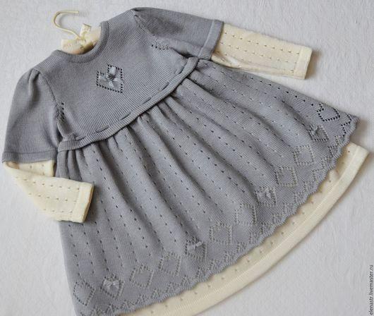 """Одежда для девочек, ручной работы. Ярмарка Мастеров - ручная работа. Купить Платье для девочки """"Моё сердечко"""". Handmade. Платье для девочки"""