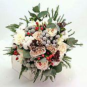 """Цветы и флористика ручной работы. Ярмарка Мастеров - ручная работа Букет невесты """"Зима"""" из живых цветов. Handmade."""