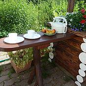 Для дома и интерьера ручной работы. Ярмарка Мастеров - ручная работа Летний стол. Handmade.