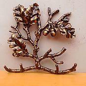 Для дома и интерьера ручной работы. Ярмарка Мастеров - ручная работа Ключница дубок. Handmade.