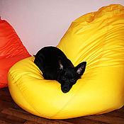 """Для дома и интерьера ручной работы. Ярмарка Мастеров - ручная работа Кресло мешок """"Апельсиновое настроение"""". Handmade."""