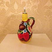 Материалы для творчества ручной работы. Ярмарка Мастеров - ручная работа Керамическая емкость для масла/уксуса. Handmade.