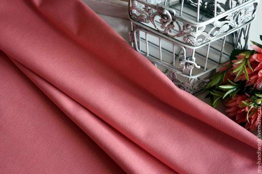 Шитье ручной работы. Ярмарка Мастеров - ручная работа. Купить Ткань хлопок  с покрытием TEFLON DRK-7440. Handmade. Розовый