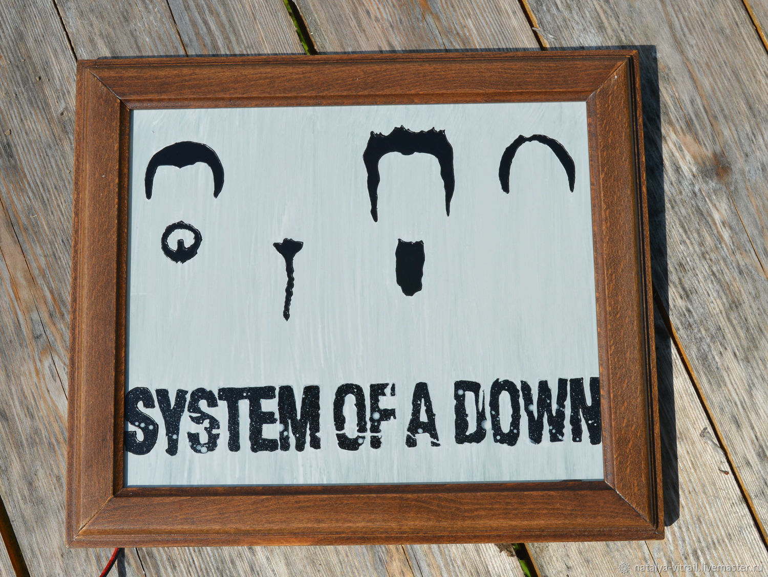 Illuminated picture system of a down for fans of the band, Subculture Attributes, Klin,  Фото №1