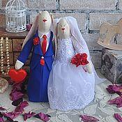Куклы и игрушки handmade. Livemaster - original item Wedding lovebirds. Handmade.