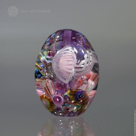 Для украшений ручной работы. Ярмарка Мастеров - ручная работа. Купить Карманный аквариум Фиолетовые мечты. Handmade. Комбинированный