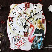 Для дома и интерьера handmade. Livemaster - original item Alice in Wonderland, watch. Handmade.