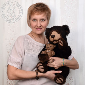 Петелина Наталья медведи-тедди