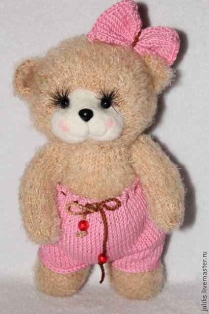 """Игрушки животные, ручной работы. Ярмарка Мастеров - ручная работа. Купить Медвежонок """" малышка Пи"""". Handmade. Мишка"""