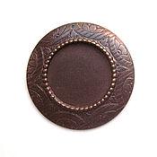 handmade. Livemaster - original item Under cabochon pendant Vintaj. Handmade.