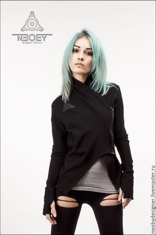 Пиджаки, жакеты ручной работы. Ярмарка Мастеров - ручная работа. Купить Жакет - фрак Shunkan от  Neoby SH02. Handmade. Черный