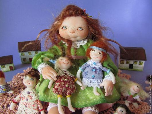"""Коллекционные куклы ручной работы. Ярмарка Мастеров - ручная работа. Купить """"Коллекционерша"""". Handmade. Коллекционная кукла, куколки, фимо"""